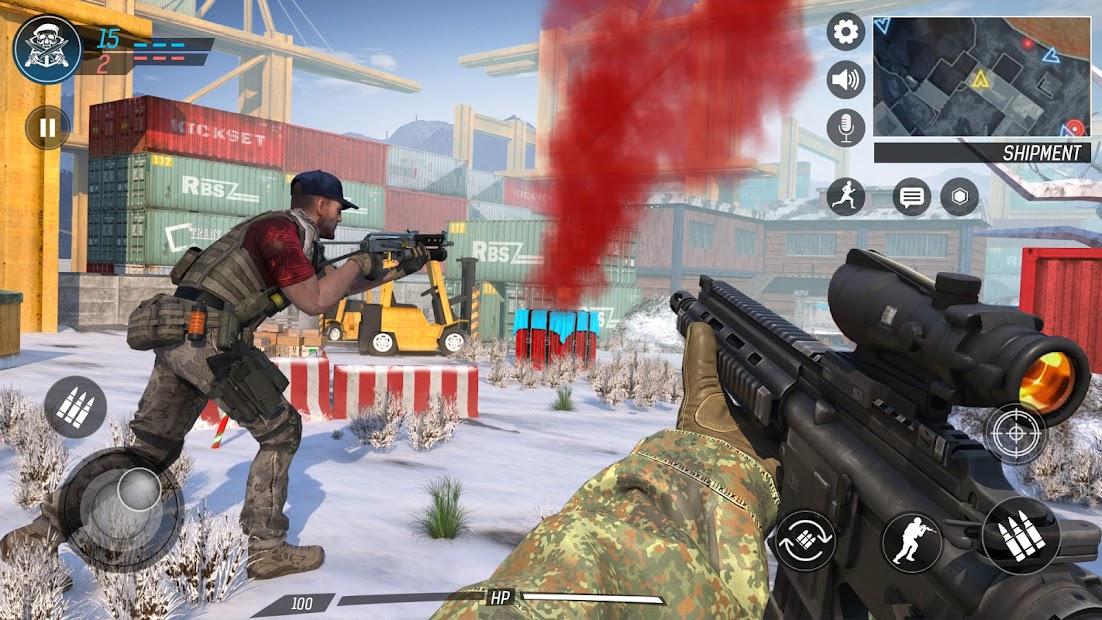 Screenshot 11 de Libre Pistola Tiroteo   Juegos : Nuevo   Juegos para android