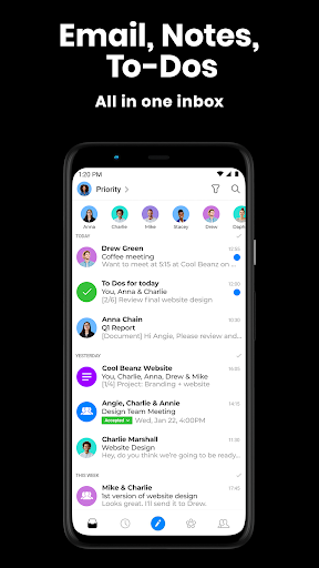 spike email messenger - your inbox, reinvented screenshot 1