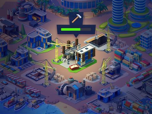 Sea Port: Cargo Ship & Town Build Tycoon Strategy 1.0.149 screenshots 21