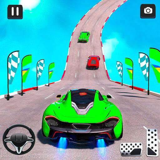 Mega Ramp Car Racing Stunt 3D