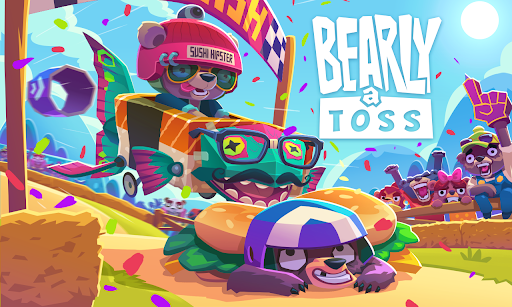 Bearly a Toss - A jump with bears and honey  screenshots 1