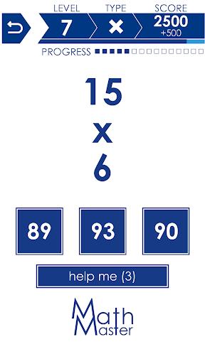 Math Master - Math games 2.9.9 screenshots 5