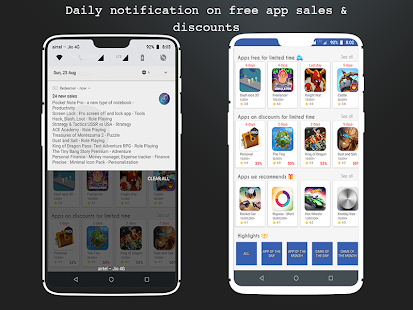 Redeemer - free promocodes & paid apps sales Screenshot