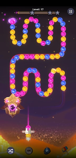 Zooma 2D - Match 3 marble Bubble Shooter Game 2021