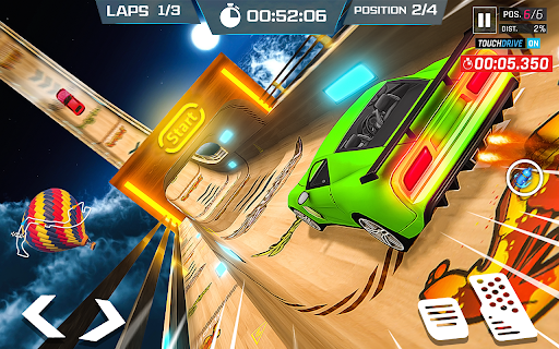 Mega Ramps Car Simulator u2013 Lite Car Driving Games 1.1 screenshots 1