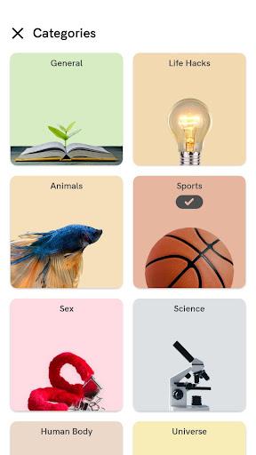 Download APK: Daily Random Facts – Get smarter learning trivia v2.8.0 [Premium]