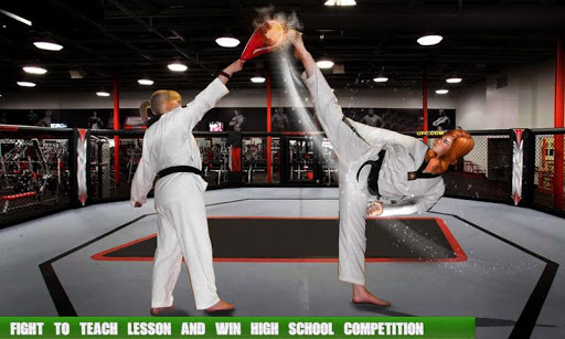 High School Gangster Bully Fights Karate Girl Game 2.0.0 screenshots 3