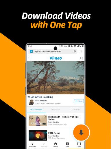 Video Downloader, Private File Downloader & Saver apktram screenshots 9