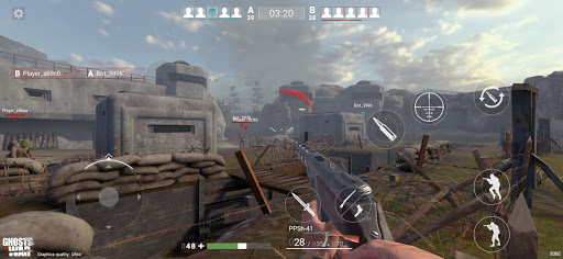 Ghosts of War: WW2 Shooting game Army D-Day 0.2.9 screenshots 13