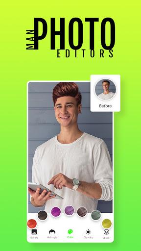 Man Photo Editor & Men HairStyle, Suits  screenshots 4