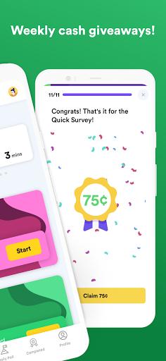 Eureka: Earn money, free $1 for your first survey!  Screenshots 2