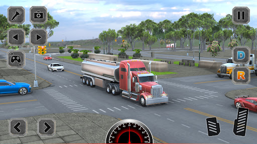 Euro Truck Driving Simulator Game  screenshots 5