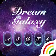 Galaxy Emoji Keyboard Theme