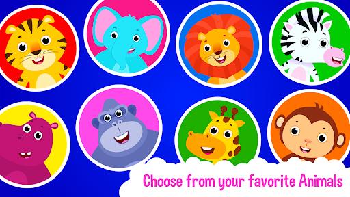 Baby Animal Bathing Game for Kids & Preschoolers apkdebit screenshots 5