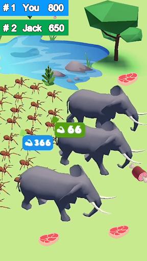 Crowd Forest.io - Herds Battle  screenshots 4
