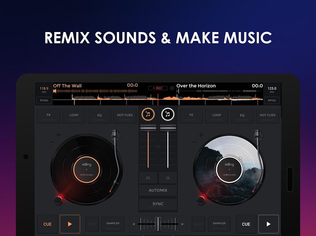 edjing Mix - Free Music DJ app  poster 6