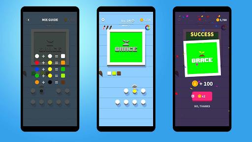 Flip Coloring - Hyper Casual Puzzle Game (Offline) screenshots 5