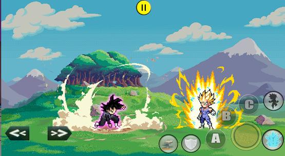 DBZ : God of Saiyan Fighters Mod Apk 1.0.1 3