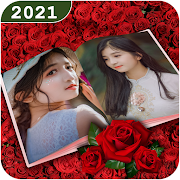 Dual Photo Frames: Photo Book Collage Maker App