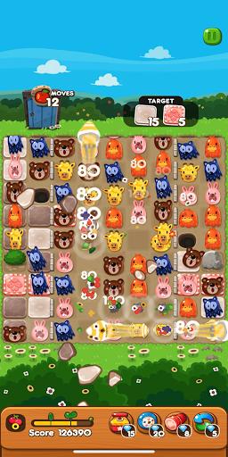 LINE PokoPoko - Play with POKOTA! Free puzzler!  screenshots 3