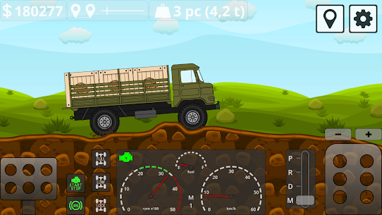Mini Trucker – 2D offroad truck simulator MOD APK 1.6.0 (Purchase Free) 7