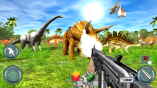 Dinosaur Hunter 2018 Free Apkfinish screenshots 12