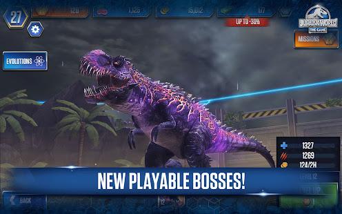 Jurassic World The Game Mod APK