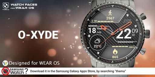 O-Xyde Watch Face Apkfinish screenshots 1