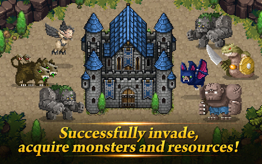 monster gate - summon by tap screenshot 1