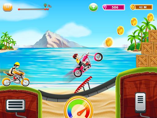 Kids Bike Hill Racing: Free Motorcycle Games 0.9 screenshots 6