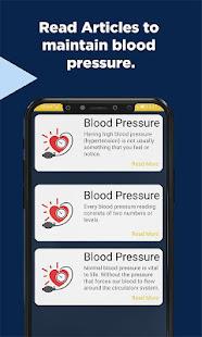 Blood Pressure Checker Diary Log