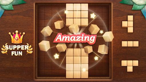 Wood Block Puzzle 3D - Classic Wood Block Puzzle apktram screenshots 8
