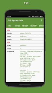Full system info Pro v2.8.2 Cracked APK 1