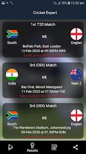 Cricket Expert live line