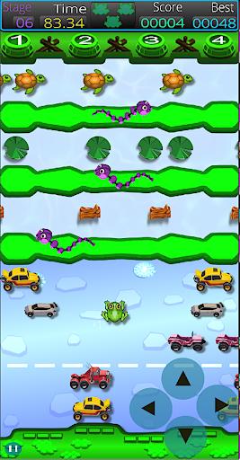 Frogger Arcade Super! : Classic 1980's Retro Fun! android2mod screenshots 3