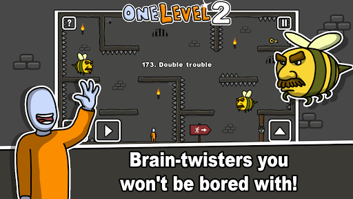 One Level 2: Stickman Jailbreak 1.8.1 screenshots 8