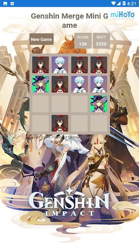 Code Triche Genshin Merge - Mini Game (Astuce) APK MOD screenshots 4