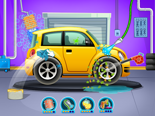 Kids Car Wash Service Auto Workshop Garage 2.1 screenshots 9