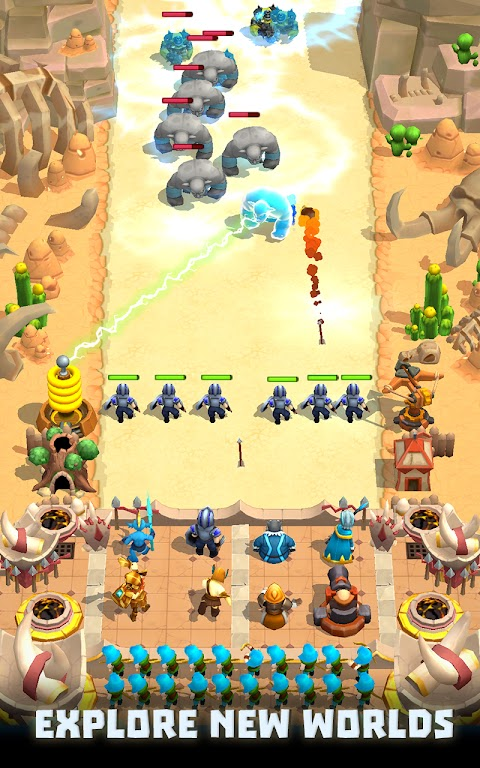 Wild Castle TD: Grow Empire Tower Defense in 2021  poster 7