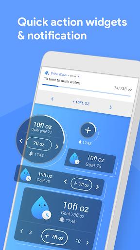 Drink Water Reminder - Water Tracker and Diet 1.23 ascendik.drinkwaterreminder.hydration.watertracker.drinkwater apkmod.id 4