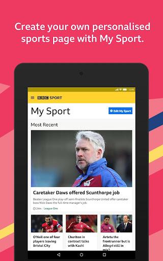 BBC Sport - News & Live Scores apktram screenshots 7