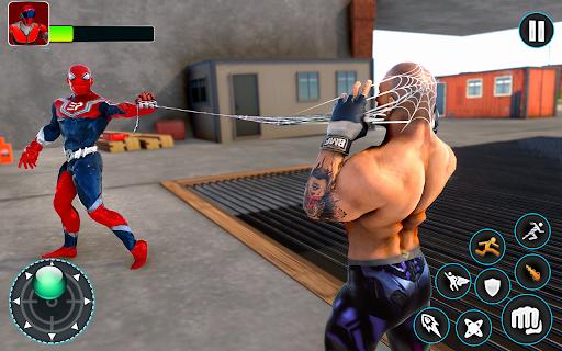 Flying Robot Hero - Crime City Rescue Robot Games 1.7.7 screenshots 21