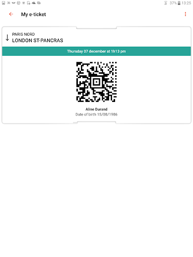 Oui.sncf : Cheap Train & Bus tickets for France 81.04 Screenshots 9