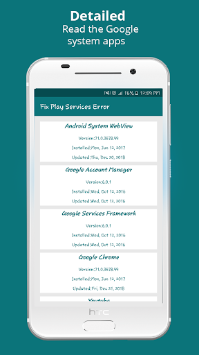 Info of Play Store & fix Play Services 2020 Update 1.1.6 Screenshots 3
