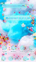 Cute Wallpaper Cotton Candy Theme