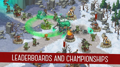 Orcs Warriors: Offline Tower Defense 1.0.28 Screenshots 4