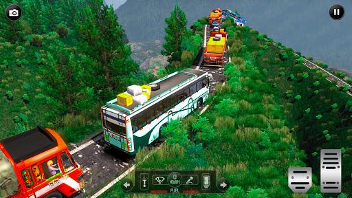Euro Uphill Bus Simulator : New Bus Game 2021  screenshots 1