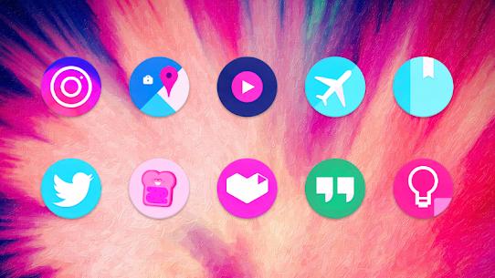 Unicorn Roundies – Free Launcher Theme (MOD, Paid) v5.8 5