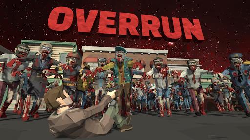 Overrun: Zombie Horde Apocalypse Survival TD Game apkpoly screenshots 1