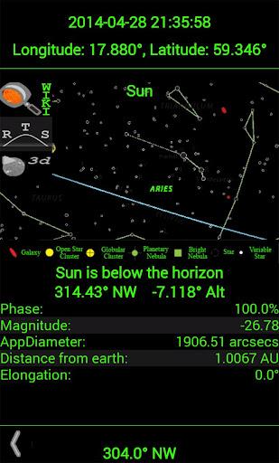 Planet Finder screenshot 8